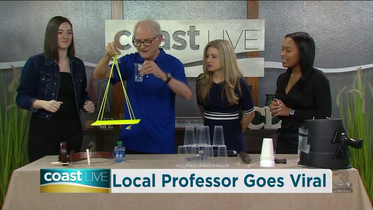 Talking with a TCC physics professor gone viral on CoastLive