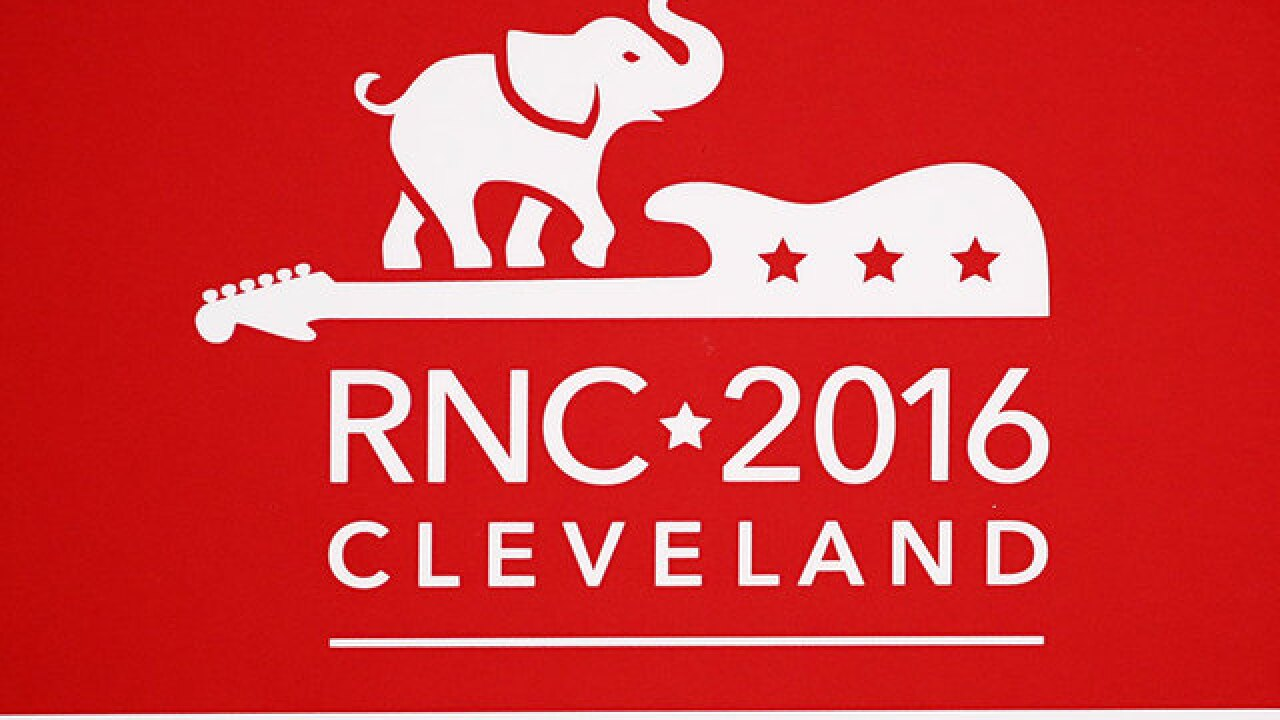 What is the state of the GOP as the convention convenes?