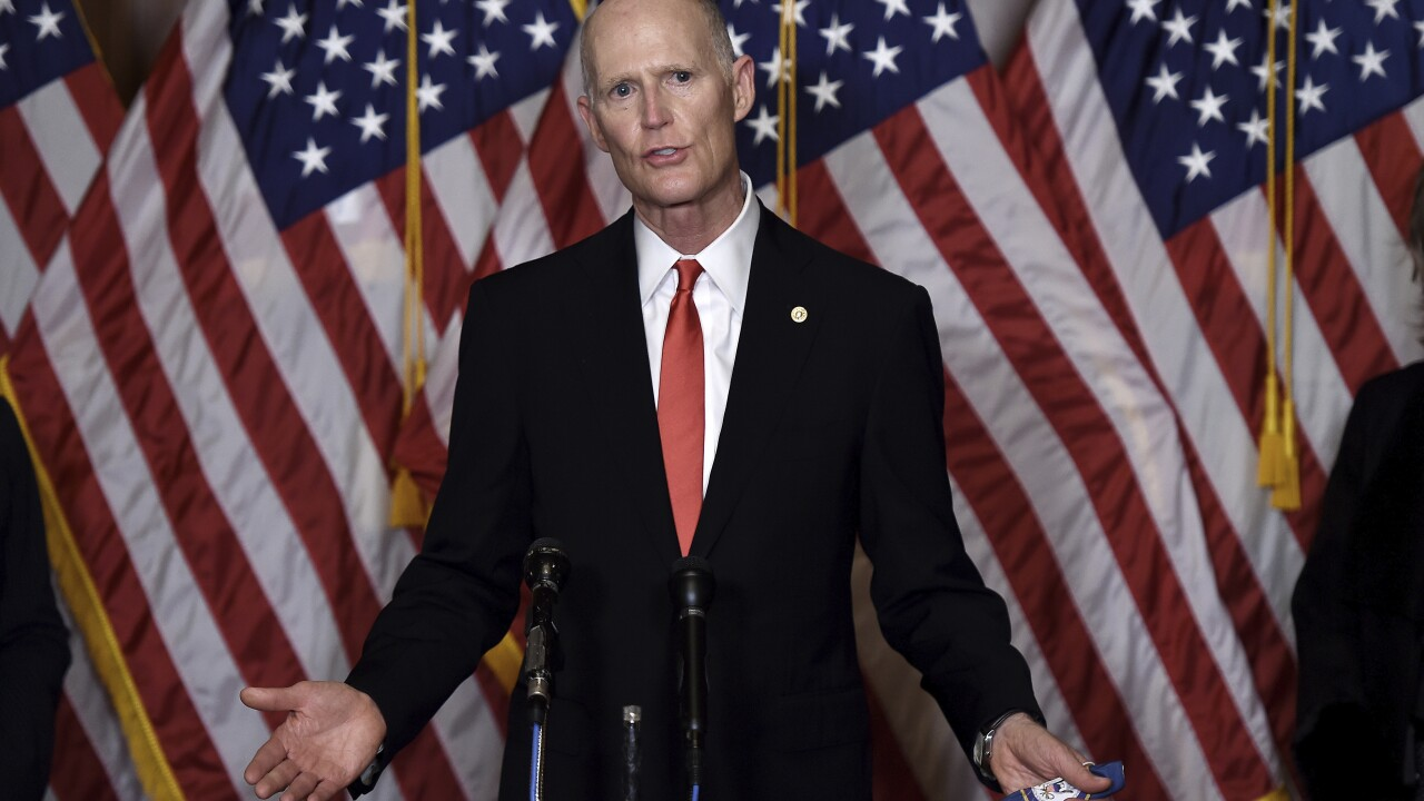Florida Sen. Rick Scott tests positive for coronavirus