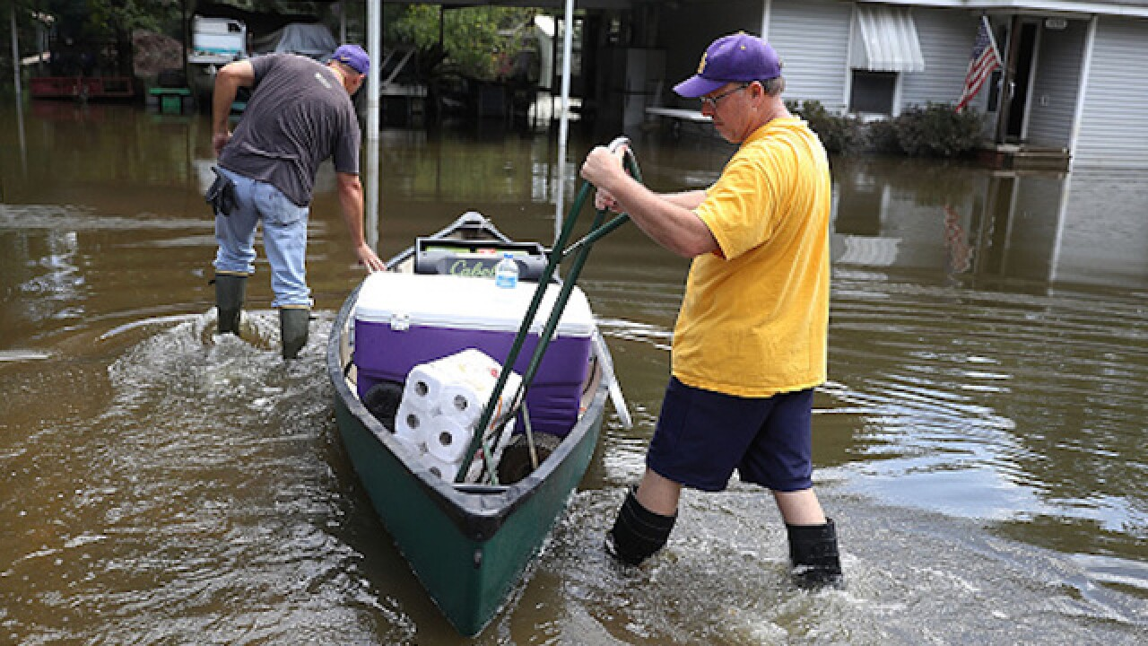 Modest recovery raises hope following floods in Louisiana