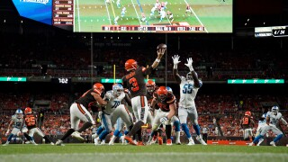 Detroit Lions v Cleveland Browns