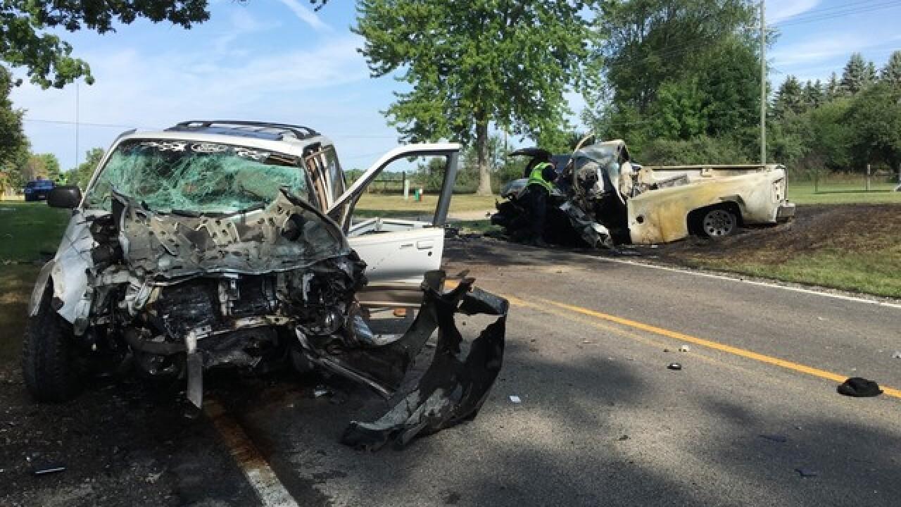1 dead in Hartland Township crash