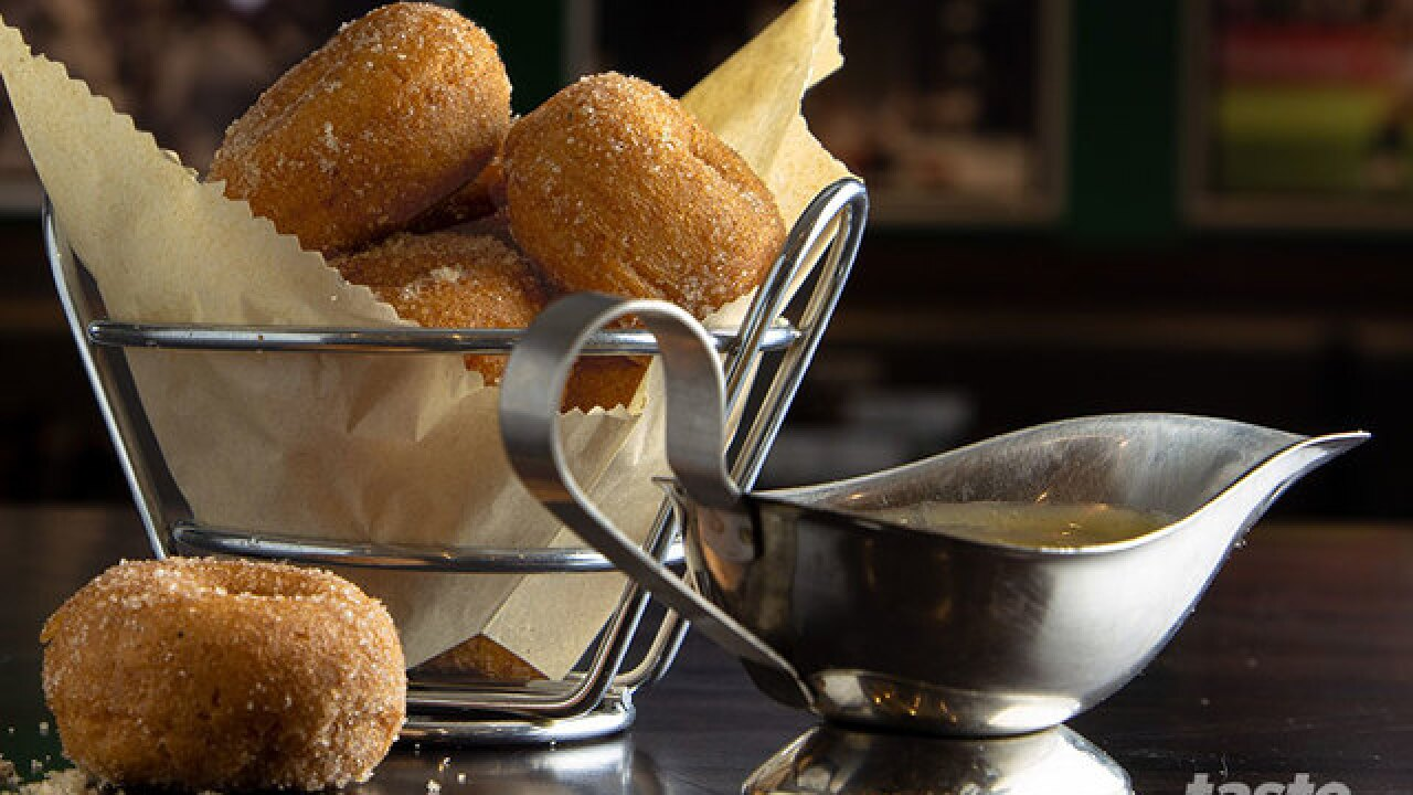 Warm cider mini donuts are coming to Duffy's