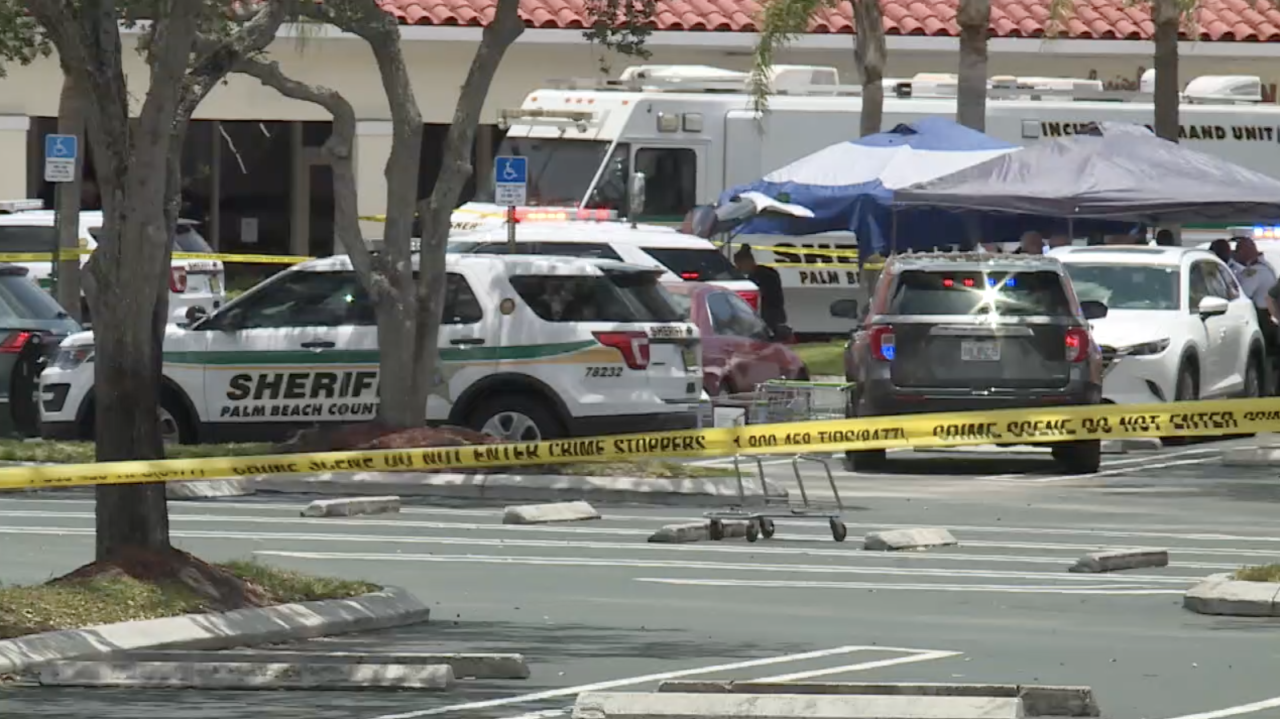 Publix shooting Palm Beach County Sheriff's Office command center in parking lot