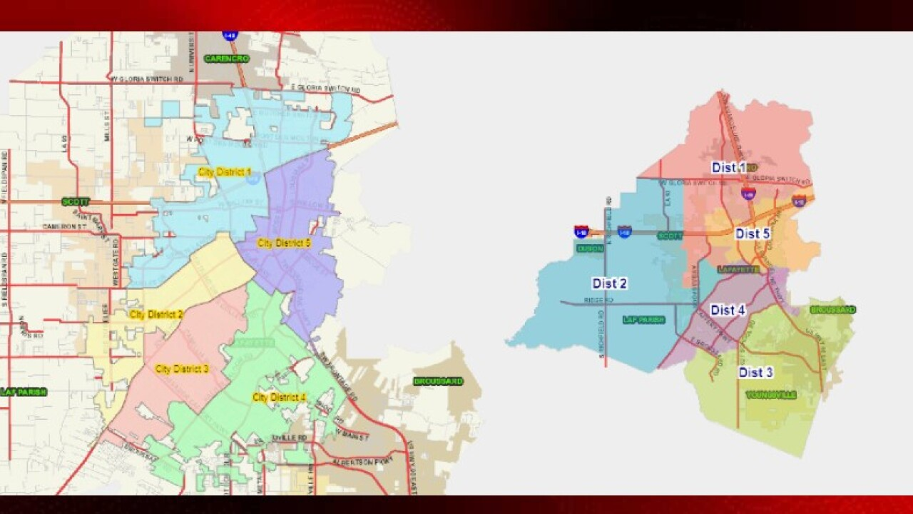 Do You Know Which Lafayette City And Parish District You Are In How To Find Your Candidates