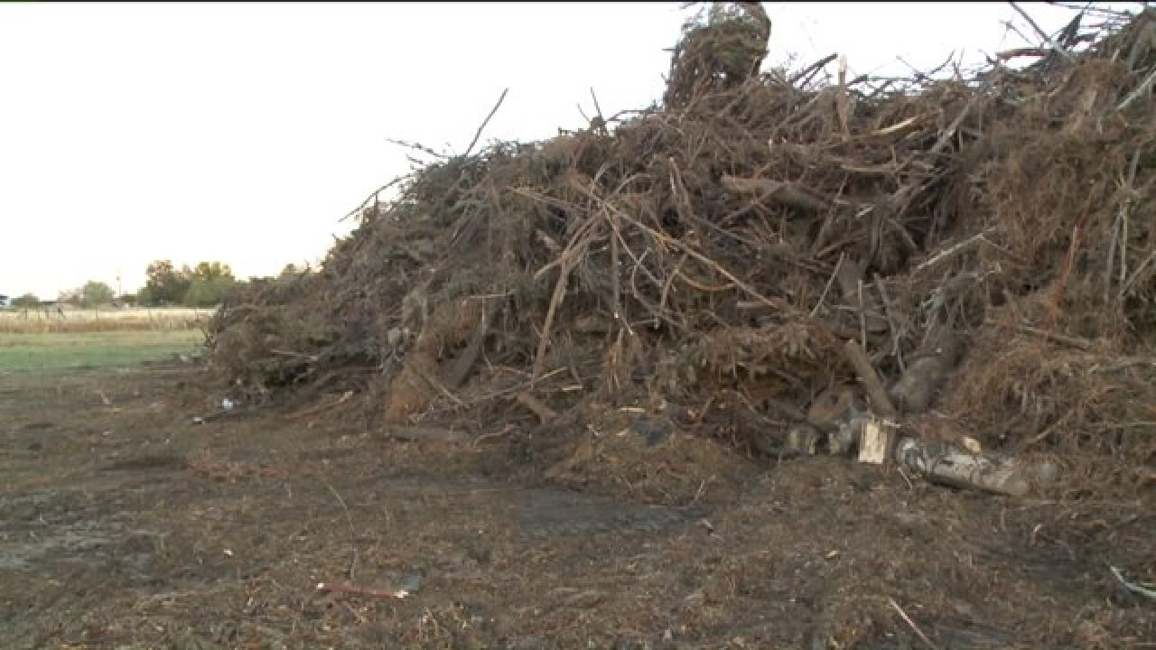 Neighbors upset with Pleasant View over plans to burn green waste pile