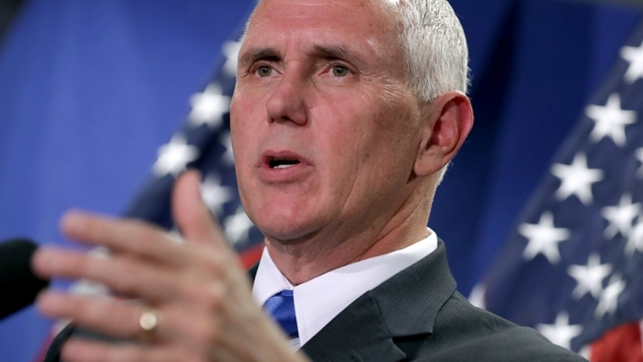 Pence to visit Wisconsin, Indiana on Wednesday