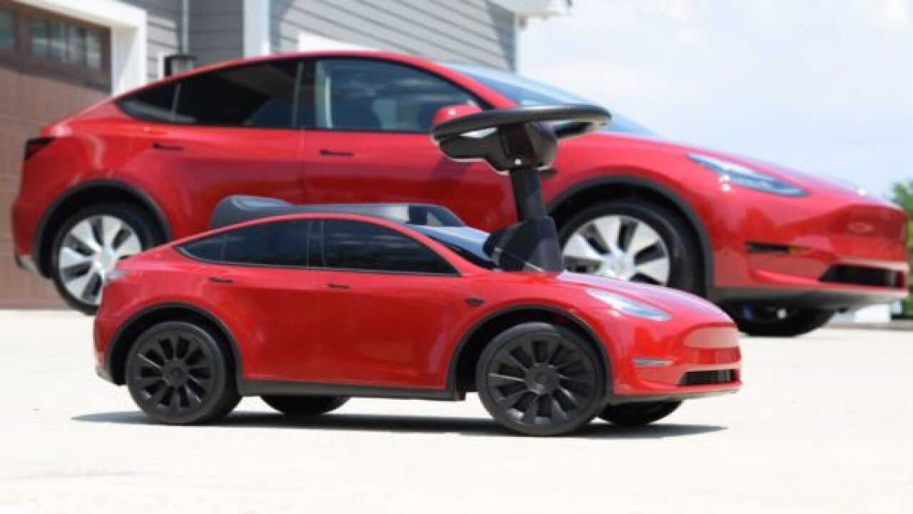 Radio Flyer Is Making A New Mini Tesla For Kids To Ride