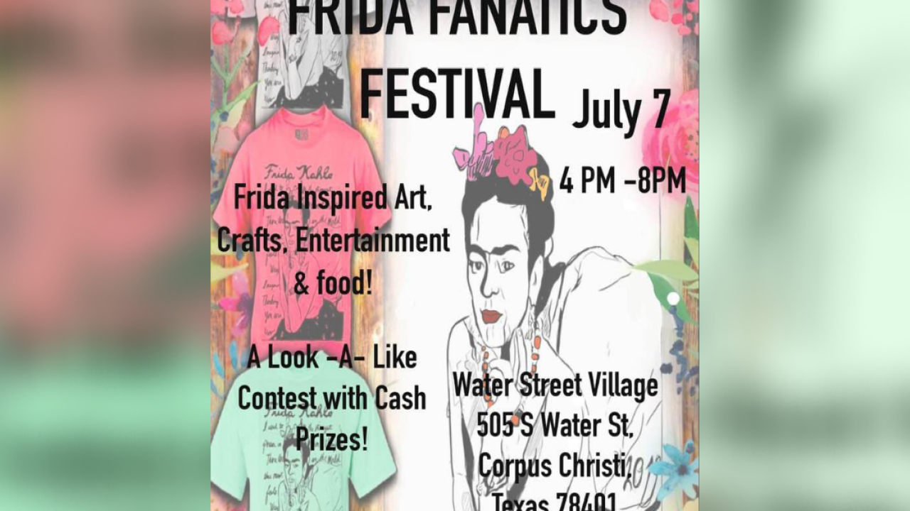 Celebrate Frida Kahlo at local Frida Fanatics Festival