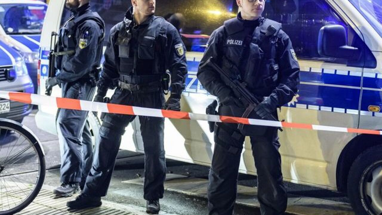 Axe attack in Germany leaves several injured