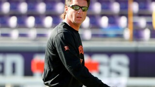 Mike Gundy Mullet: Photos of OSU Cowboys' coach's hair during the 2016 college football season