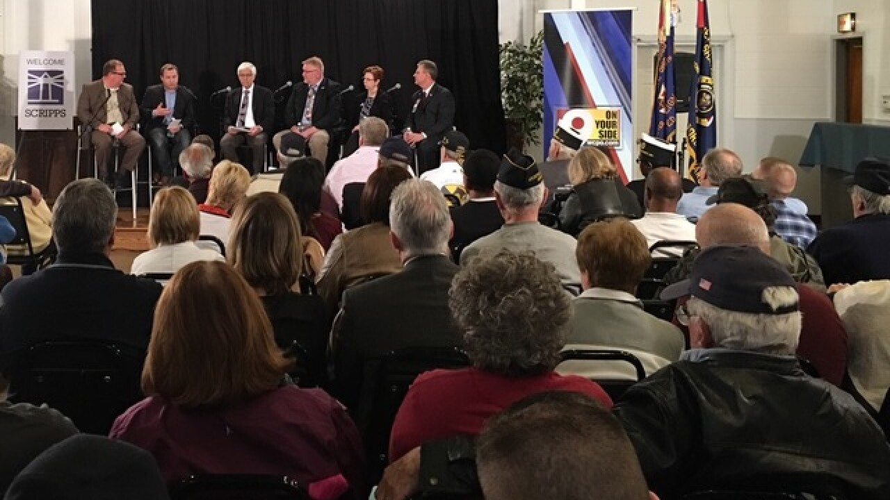 Emotions ran high in WCPO VA town hall
