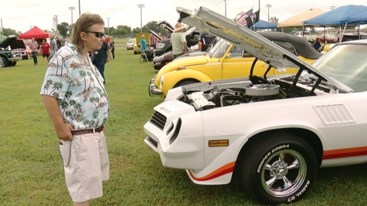 The Cherokee Nation annual car show