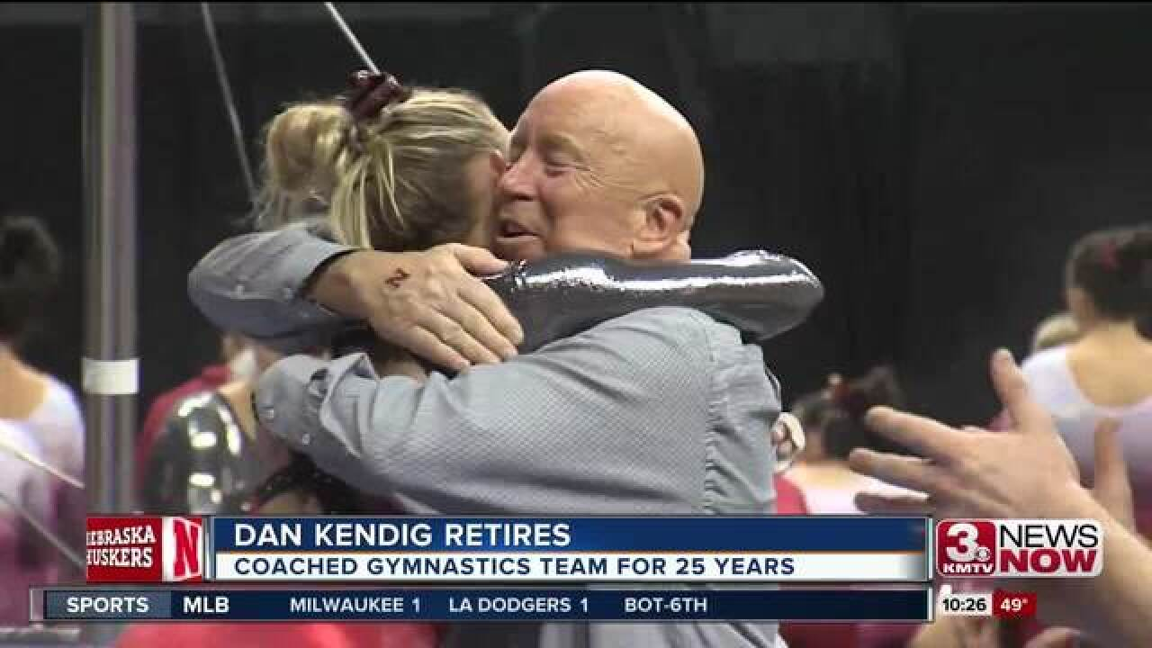 UNL women's gymnastics coach retiring