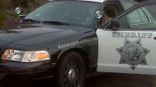 sheriff patrol car