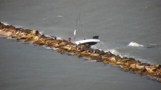 First responders called out Corpus Christi Bay to rescue several people