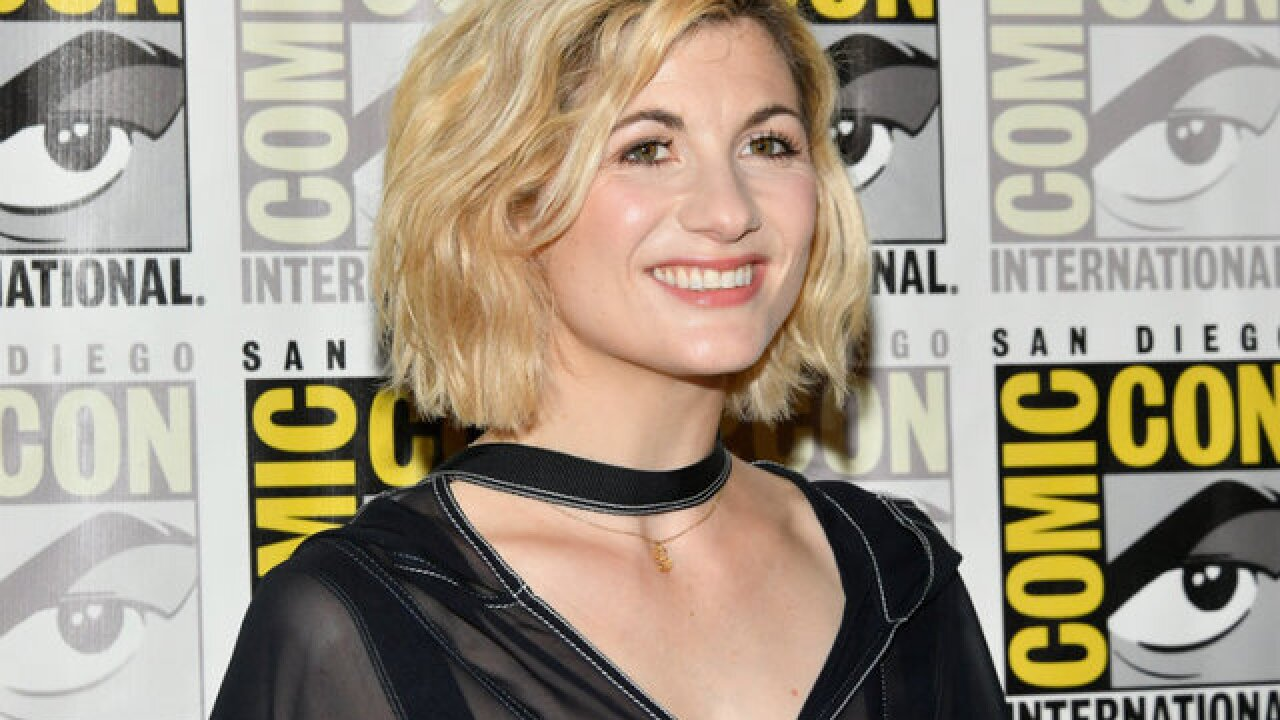 "Comic-Con fans go wild meeting first female ""Doctor Who"" Jodie Whittaker"