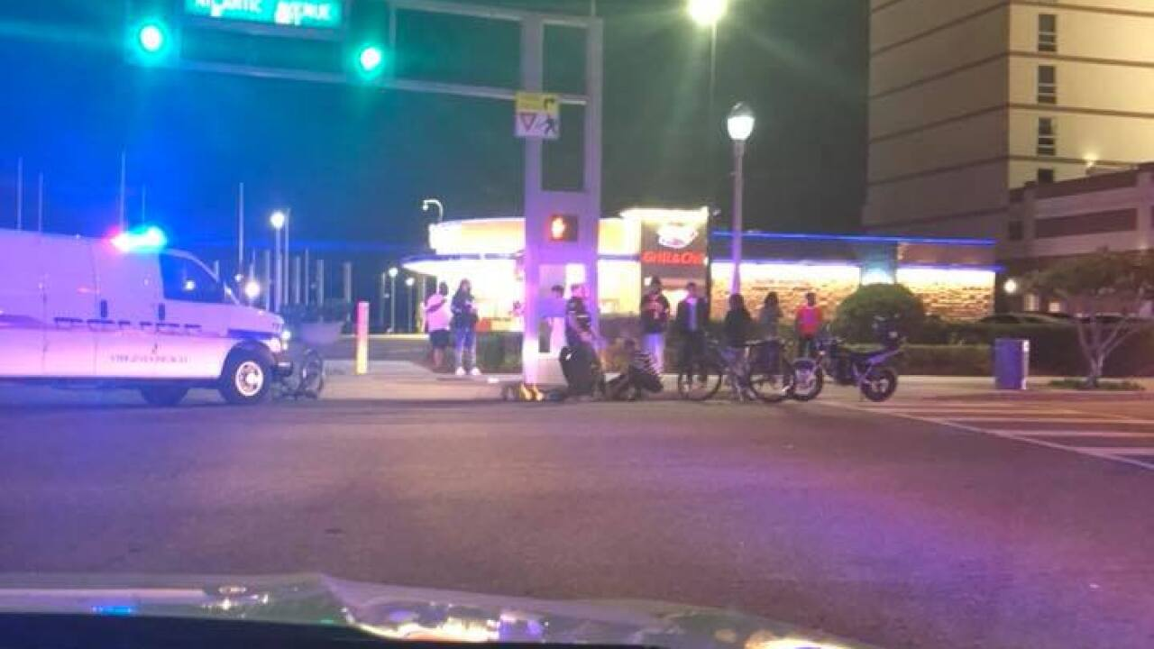 Virginia Beach Police investigating doubleshooting
