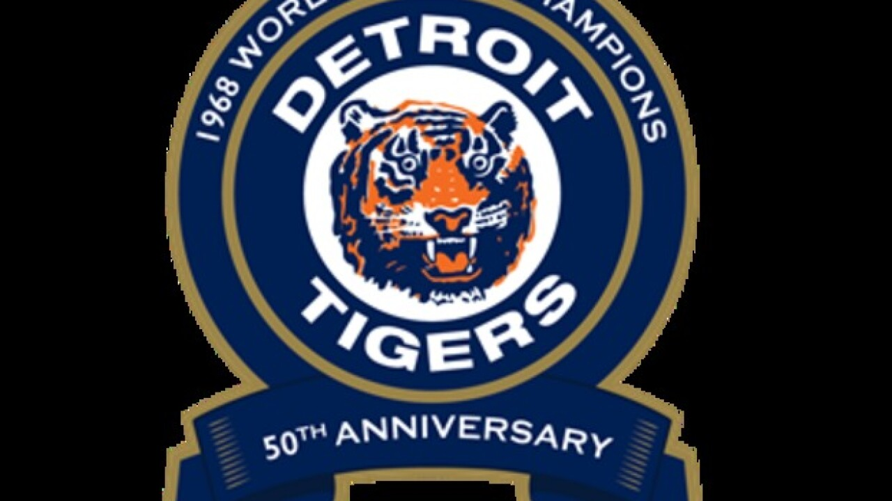 reputable site 51510 80b4a Tigers announce plans to honor 50th anniversary of 1968 ...