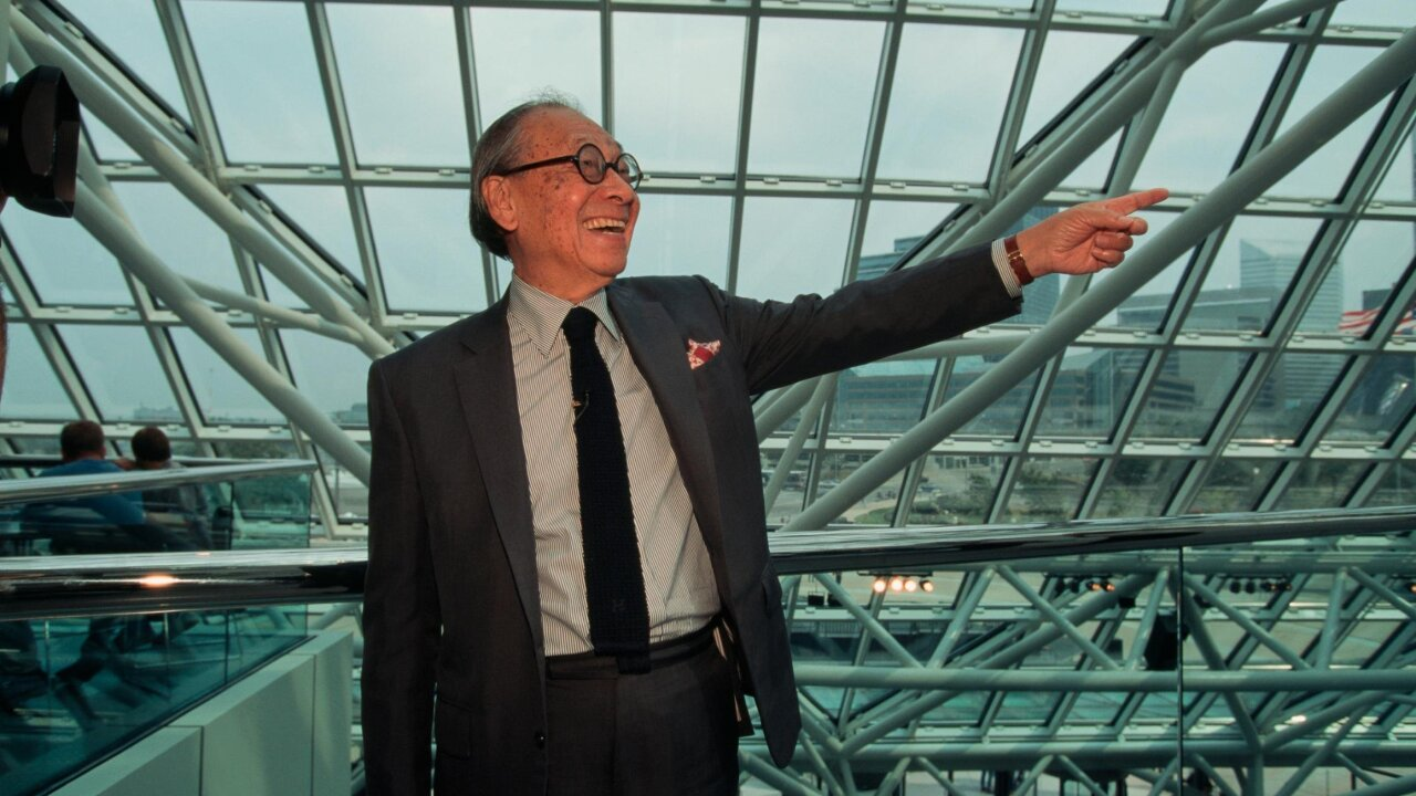 I.M. Pei, acclaimed architect who designed the Louvre's pyramid, dead at 102