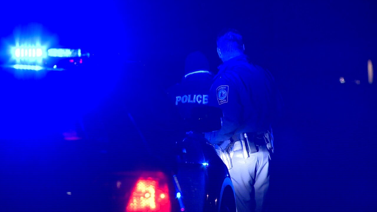 Man in custody after woman shot with airrifle