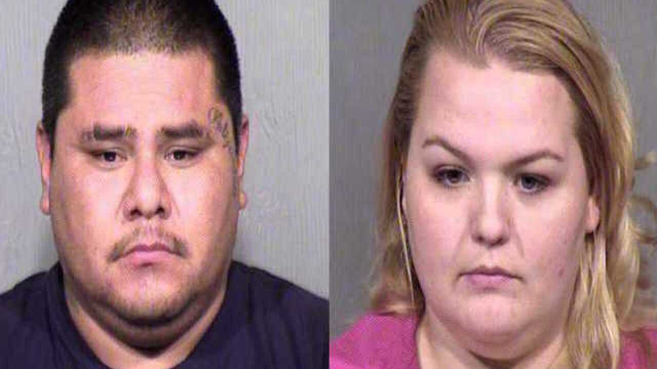 MCSO: Couple arrested for planning fake robbery against McDonald's