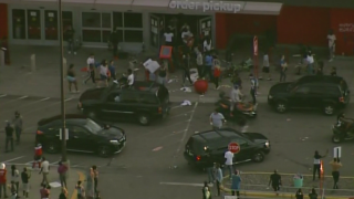 Target store looted as George Floyd protests continue in Minneapolis