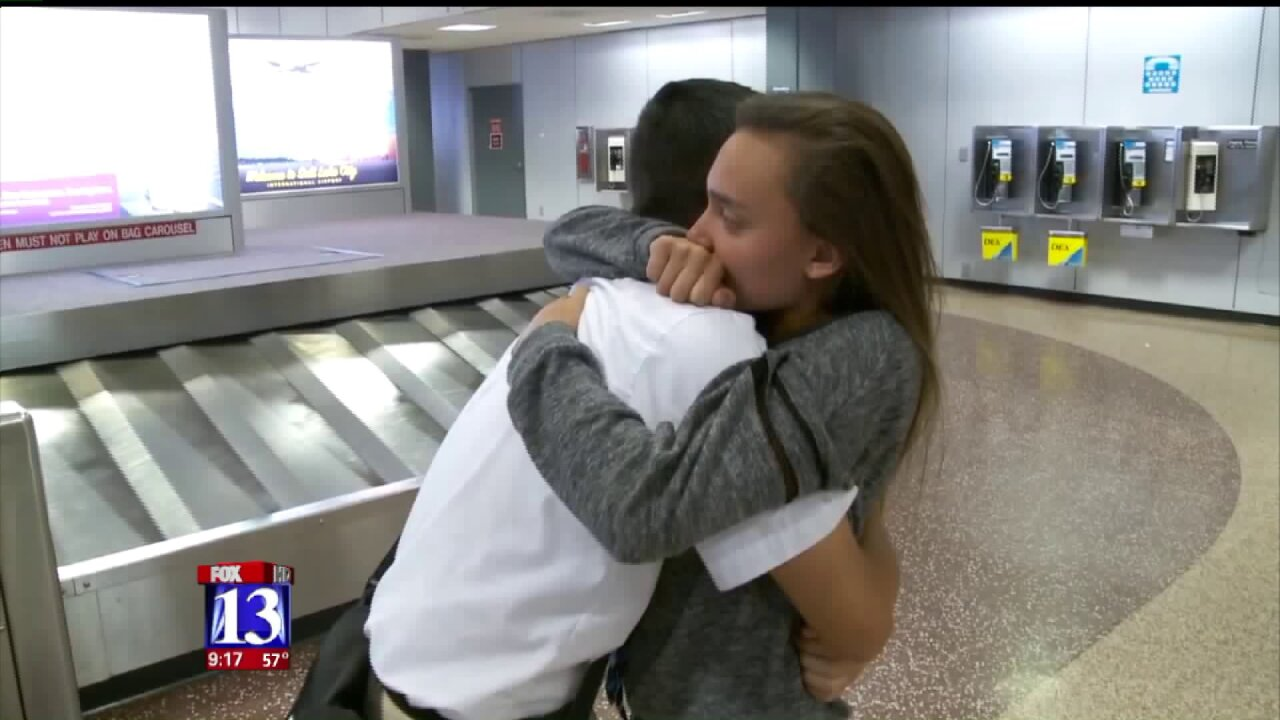 Nearly two dozen LDS Missionaries serving in Puerto Rico relocated toUtah