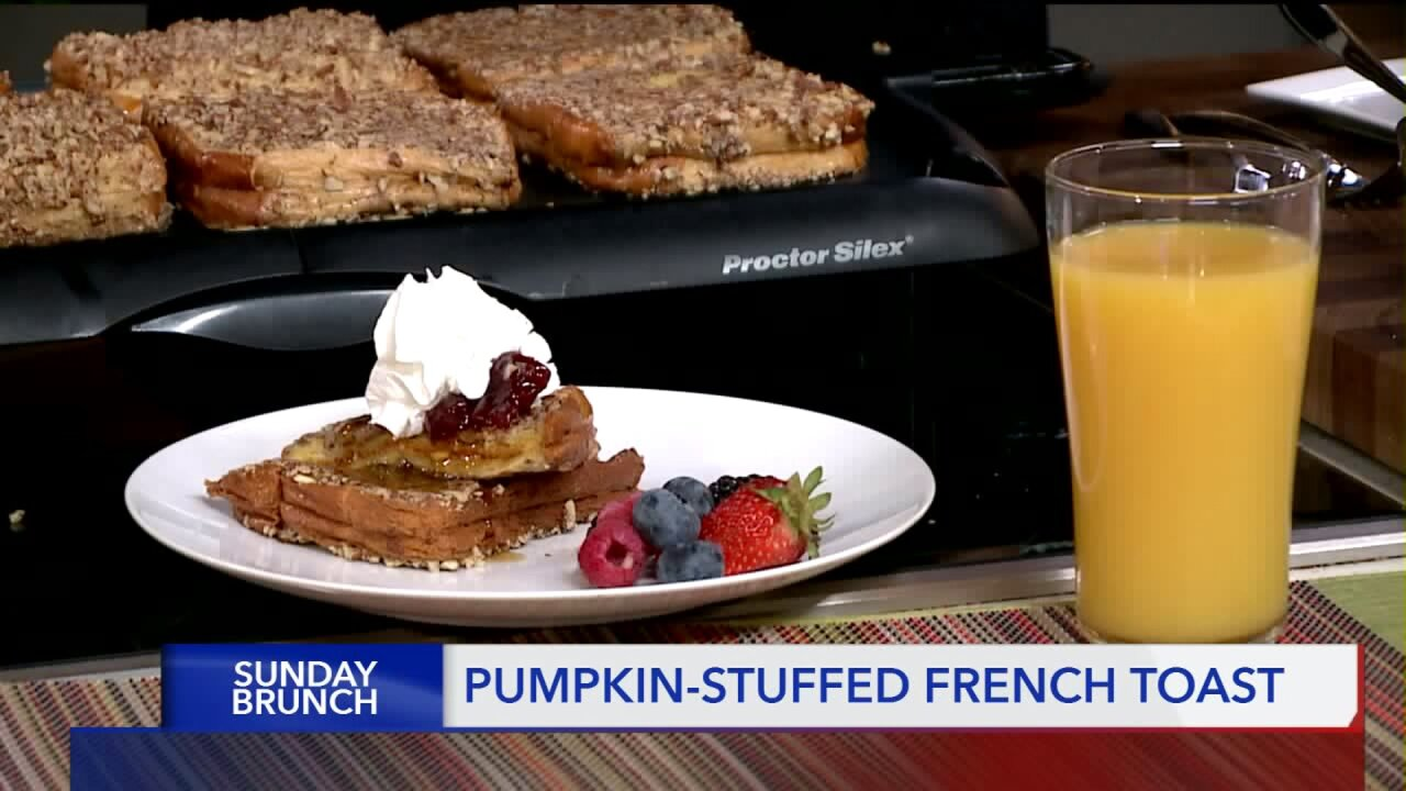Smith's Food & Drug 'Sunday Brunch': Pumpkin Stuffed FrenchToast