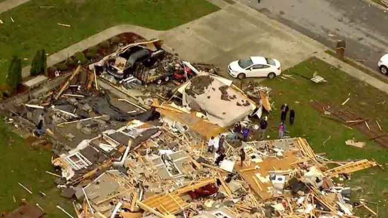 7 Tornados Confirmed In Tennessee, Kentucky