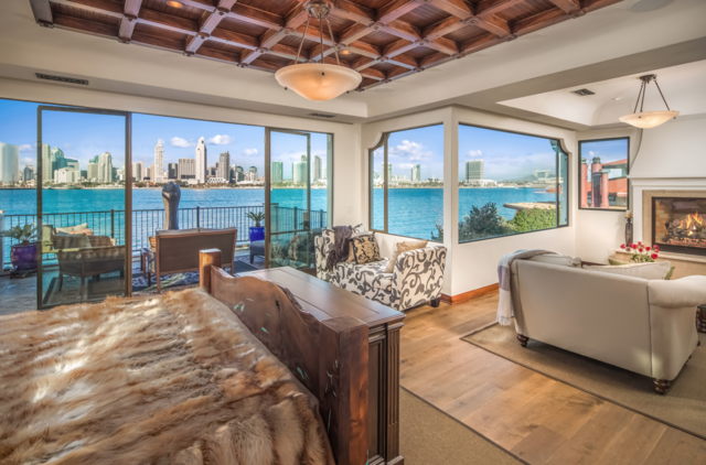 Coronado waterfront home for sale