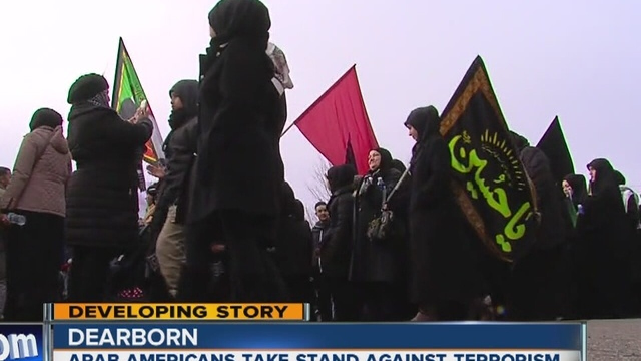 Arab Americans take a stand against ISIS