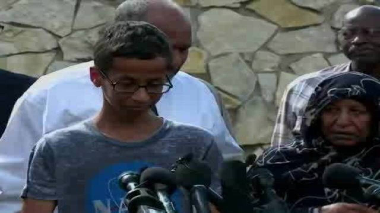 #IStandWithAhmed: Famous faces support teen