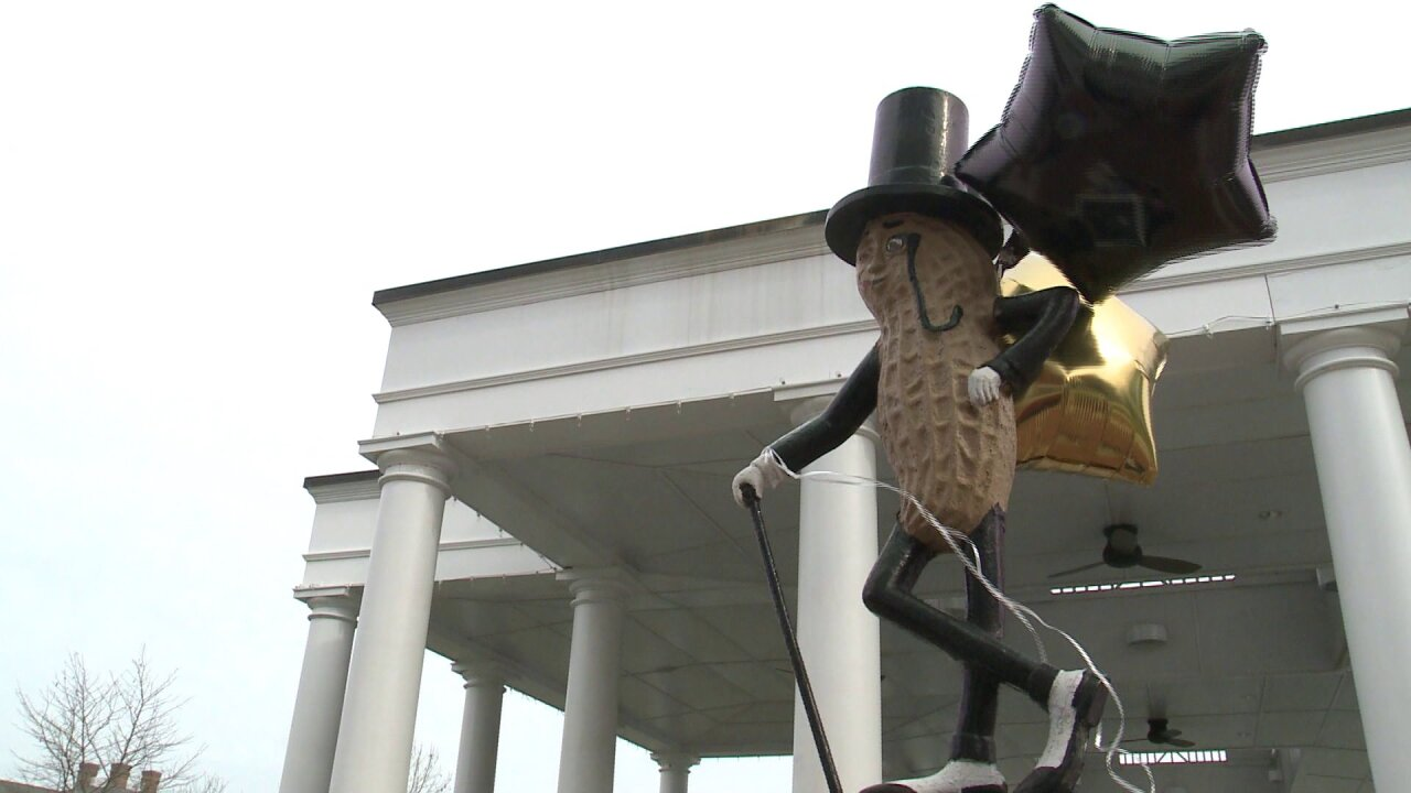 RIPeanut: Locals pay respects to Suffolk native Mr. Peanut after his unexpected death