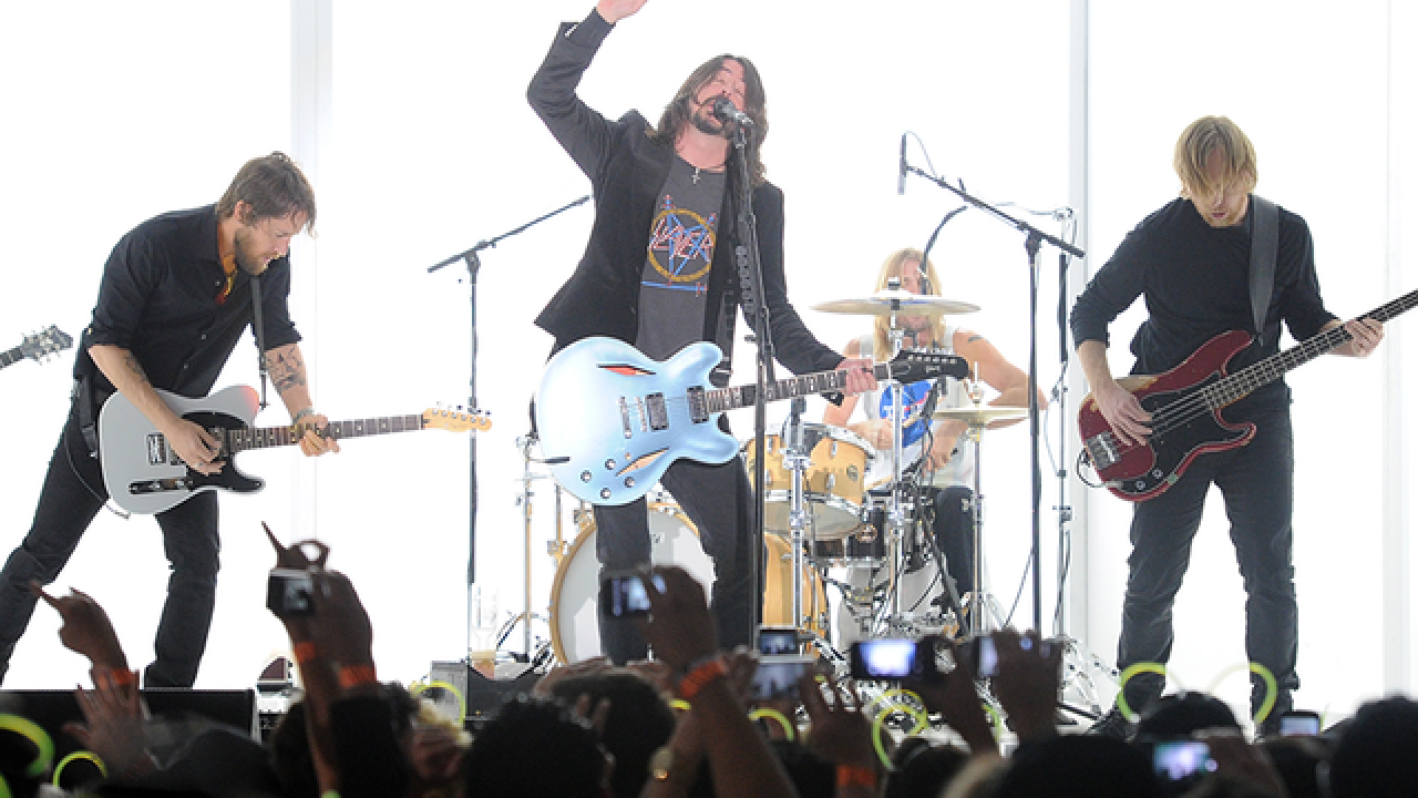 Foo Fighters coming to Tampa's MidFlorida Credit Union Amphitheatre in 2018