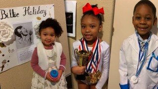 MUSKEGON DAYCARE DRESS UP FOR BLACK HISTORY MONTH