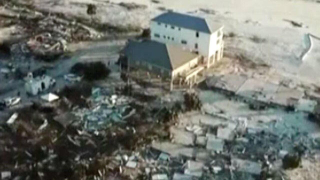 'Sand Palace' was one of the few Mexico Beach houses that survived Hurricane Michael