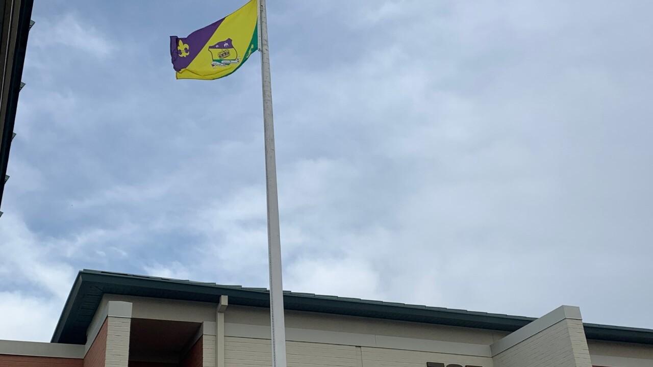 2021 Mardi Gras Flag raising.jpg