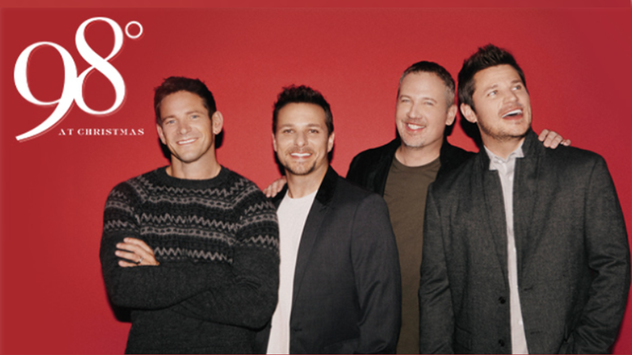 98 Degrees brings Christmas tour to Mahaffey Theater