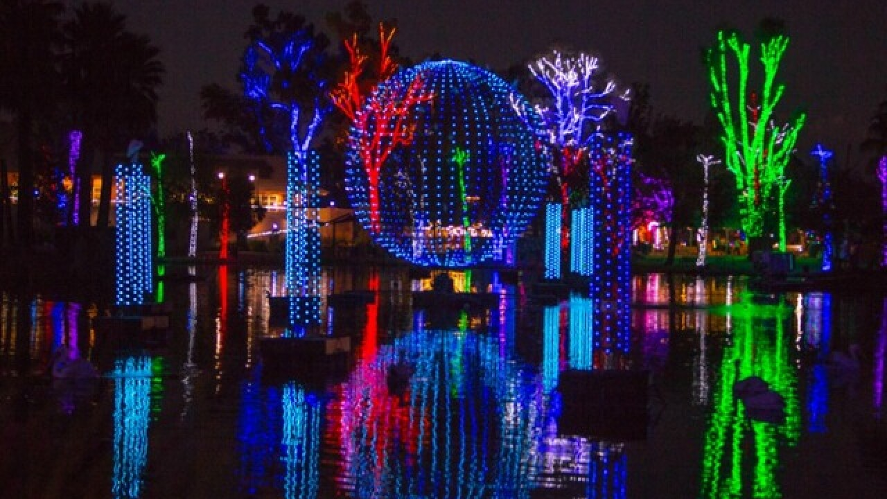 Christmas Lights Phoenix 2020 ZooLights at the Phoenix Zoo to start Wednesday, Nov. 22