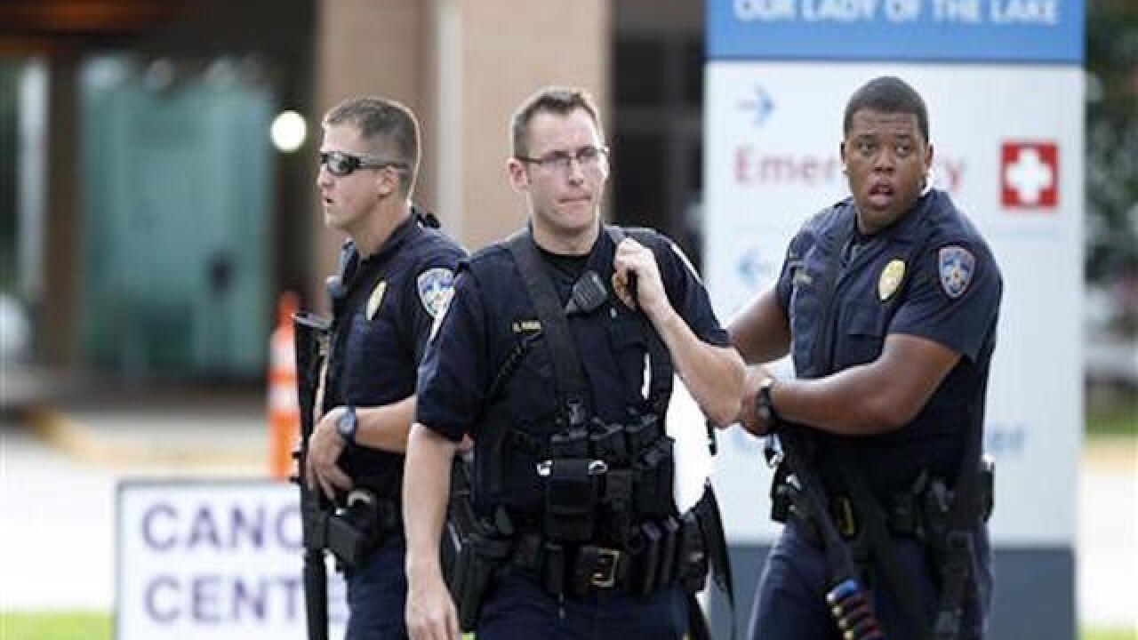 Baton Rouge: Gunman was seeking out officers in attack