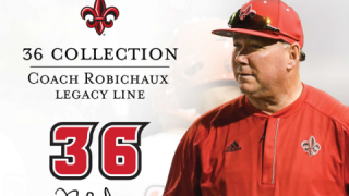 Coach Robichaux sports merchandise