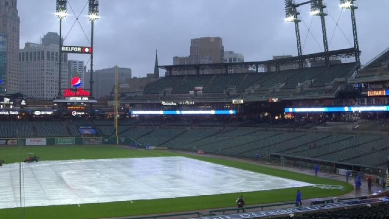Tigers game against Mariners postponed, rescheduled for straight doubleheader Saturday