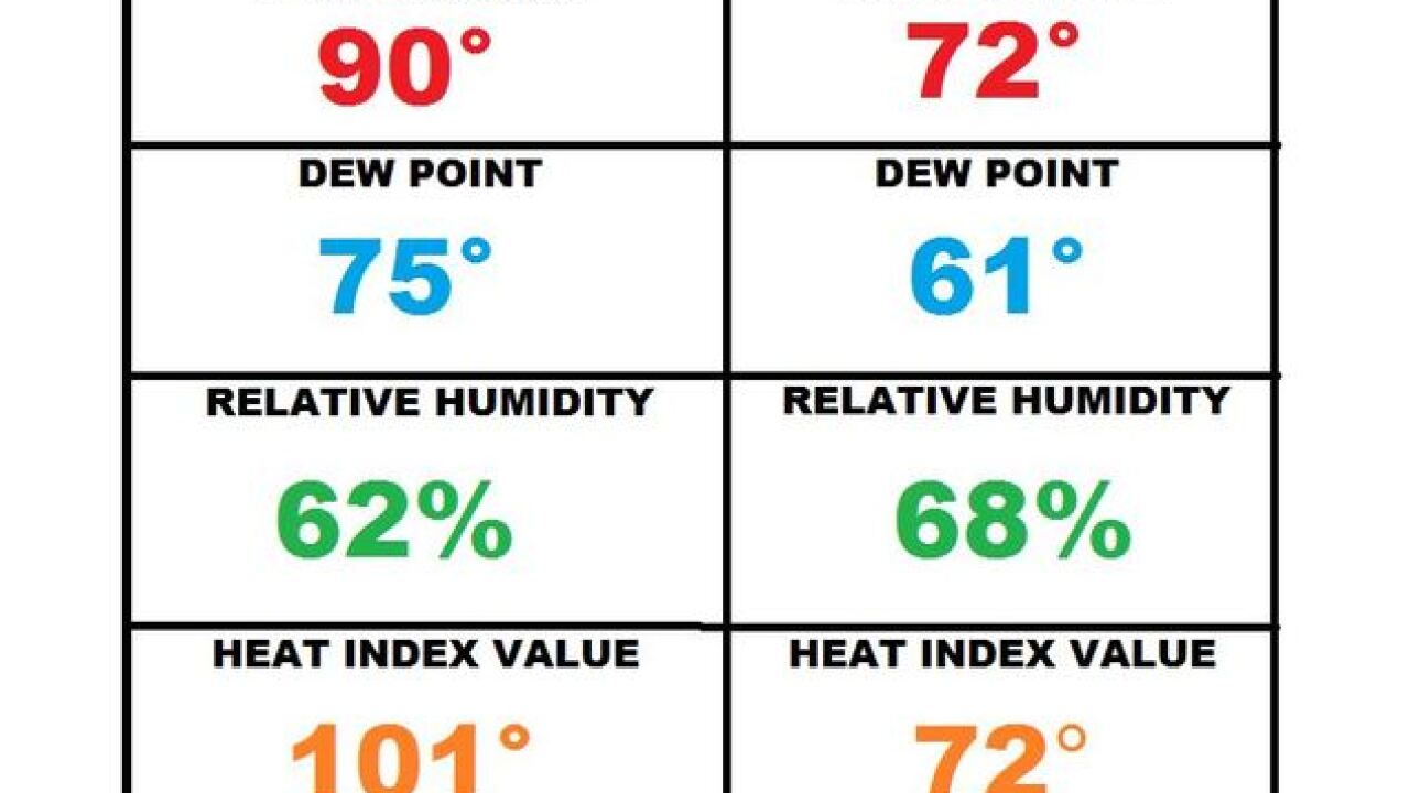 Wednesday's Weather Word: Dew Point