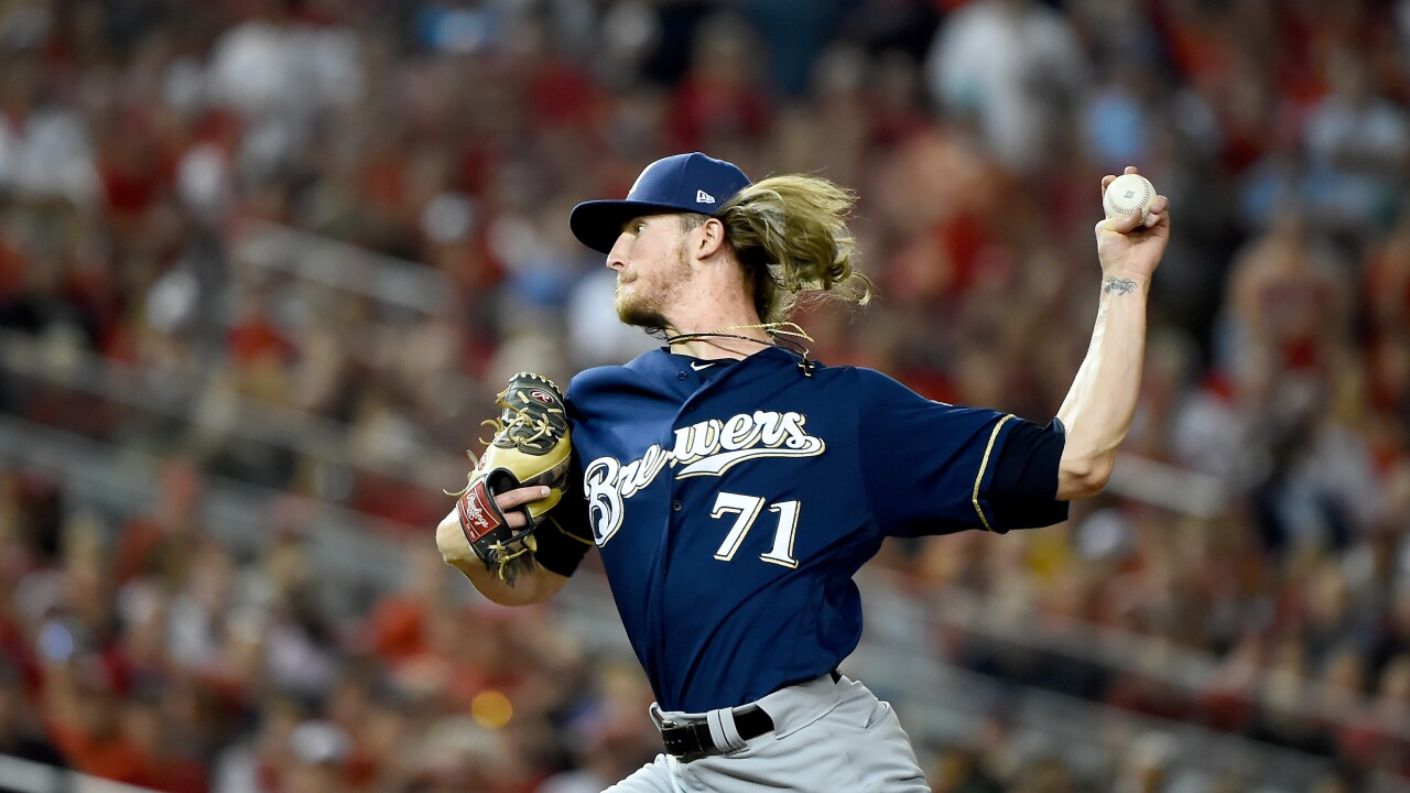 Wild Card Round - Milwaukee Brewers v Washington Nationals