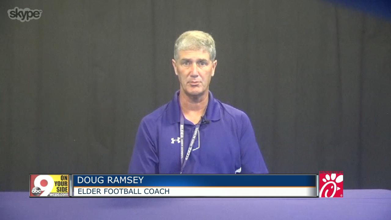 Elder football coach Doug Ramsey