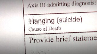 Hanging suicide