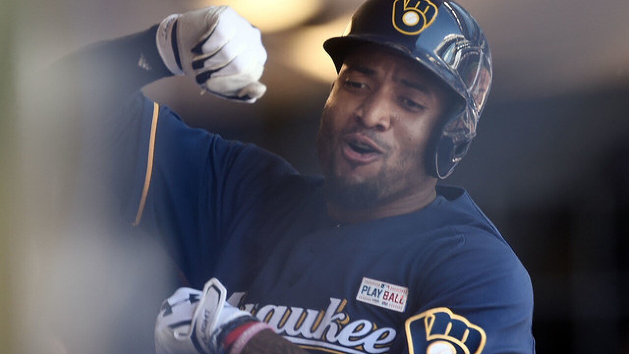 Best Brewers home run celebrations of the 2017 season