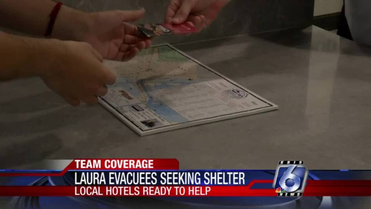 Local hotels ready to help Laura evacuees