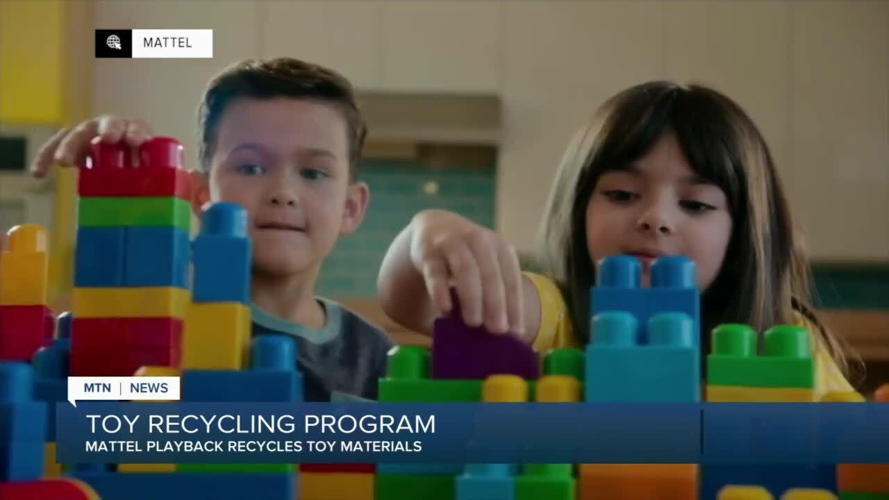 "Mattel launches new toy takeback program called ""Mattel Playback"""